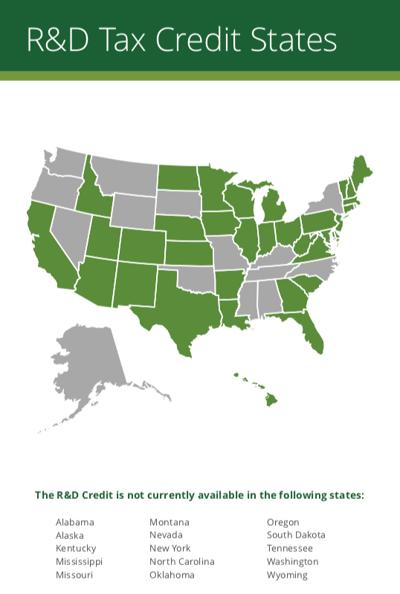 R&D Tax Credit U.S. State Guide